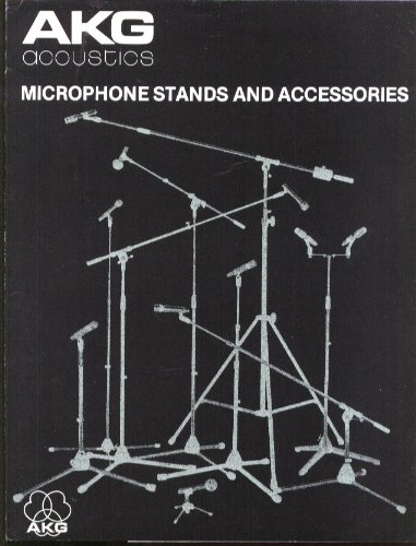 Akg Acoustics Microphone Stand & Accessory Catalog 1979