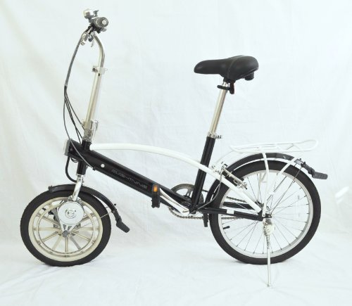 e-Lightning Superlight Folding Electric Bicycle Only 27 Pounds, Lithium Ion Internal Batteries, Neodymium Motor, Magnalium Frame
