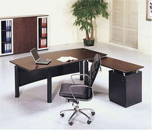 Executive Home Office Desk Walnut Furniture