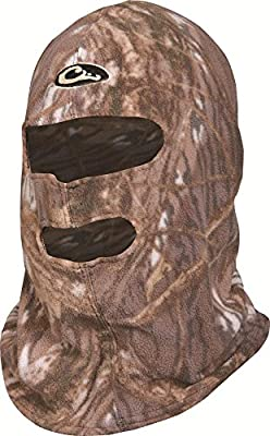 Drake Waterfowl MST Fleece Face Mask - Realtree Advantage Max 4