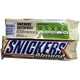 SNICKERS ALMOND BAR - 50g - BY MARS - AMERICAN CANDY BAR