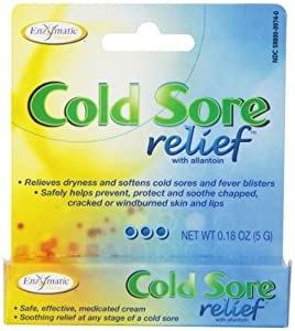 Enzymatic Therapy - Cold Sore Relief, .18 oz cream [Health and Beauty]