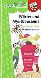 miniLÜK: Wörter und Wortbausteine: Sprachlernwerkstatt 4 für Kinder ab 6 Jahren