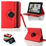Masione & trade;360 Degree Rotating Executive Multi Function Standby Smart Case for the New Kindle Fire HD 7