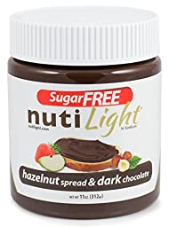 NUTILIGHT Hazelnut spread and Dark Chocolate