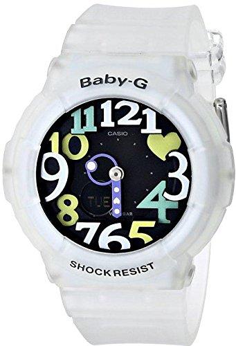 Casio Women'S Bga-131-7B4Cr Baby G Analog-Digital Display Quartz White Watch front-677233