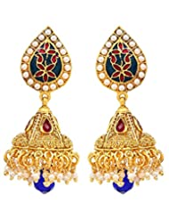 Akshim Multicolour Alloy Earrings For Women - B00NPY9298