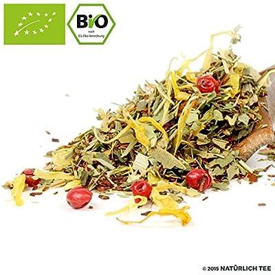 NATÜRLICH TEE - BIO ROOIBOS TEE GREEN LEMON TREE / Natürlich Aromatiserter Biotee, Rotbusch, Reubusch, South African Flavored Tea Organic - 100G von Natürlich Tee auf Gewürze Shop