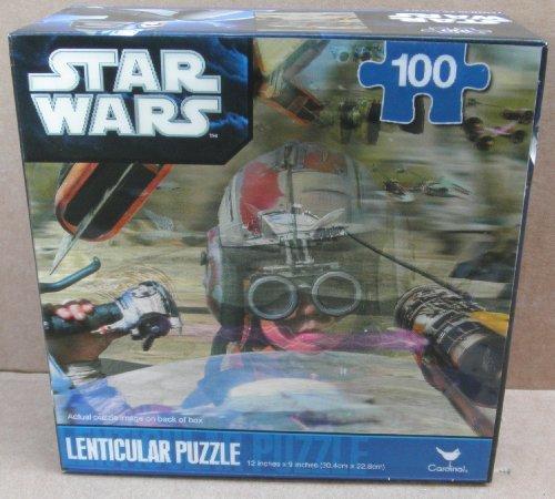 Star Wars Anakin Skywalker Podracer 100 Piece Lenticular Puzzle - 1