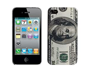 """""""Uniques-Wonga"""" iPhone 4 Coque de protection. La peau d'origine Dollar housse / coque / étui pour iPhone 4"""