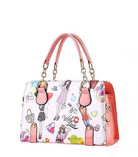 koson-man-womens-cartoon-pu-leather-vintage-tote-bags-top-handle-handbagrosered