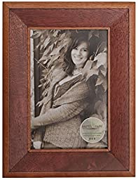 Earth Care 720-Ravine-2 tone Walnut-4x6 Photo and Document Frames, 4 by 6\