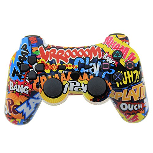 tpfoon-wireless-controller-bluetooth-double-vibration-game-pad-sixaxis-joypad-for-ps3-playstation-3