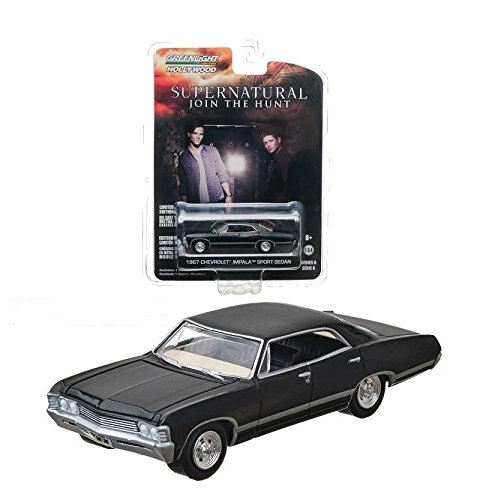 chevrolet-impala-limousine-schwarz-1967-supernatural-join-the-hunt-1-64-greenlight-modell-auto