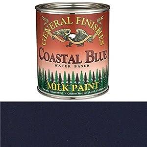 General Finishes Coastal Blue Milk Paint Quart
