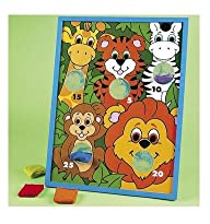 Fun Express Jungla Animal Kids Beanba…