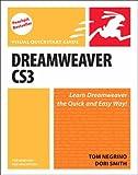 Dreamweaver CS3 for Windows and Macintosh: Visual QuickStart Guide (0321509889) by Negrino, Tom