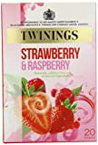 Twinings Raspberry & Strawberry 20 Teabags (Pack of 8, Total 160 Teabags)