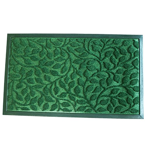 Outside shoe mat rubber doormat for front door 18 x 30 for All weather patio rugs
