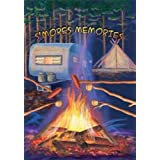 S'mores Memories Outdoor Camping Garden Flag