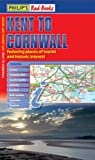 VARIOUS Philip's Red Books Kent to Cornwall: Leisure and Tourist Map (Leisure & Tourist Maps)
