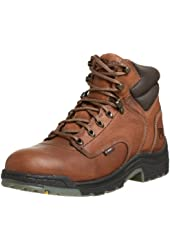 "Timberland Pro Men's Titan 6"" Coffee Soft-Toe Boot"