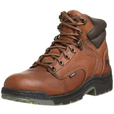 "Timberland Pro Men's Titan 6"" Coffee Soft-Toe Boot,Brown/Brown,7 M"