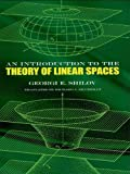 img - for An Introduction to the Theory of Linear Spaces (Dover Books on Mathematics) book / textbook / text book