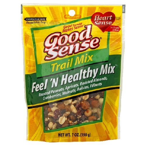 Buy Good Sense Trail Mix, Feel 'N Healthy Mix, 7-Ounce Bag (Pack of 6) (Good Sense, Health & Personal Care, Products, Food & Snacks, Snacks Cookies & Candy, Snack Food, Trail Mix)