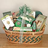 Four Leaf Clover St. Patrick&#039;s Day Gift Basket