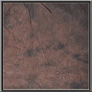 CowboyStudio 100% Cotton Hand Painted 6X 9(Inches) Tie Dye Deep Brown Muslin Photo Background