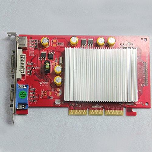 NEW AGP 4X 8X 6200 512MB Geforce Video Graphics Card