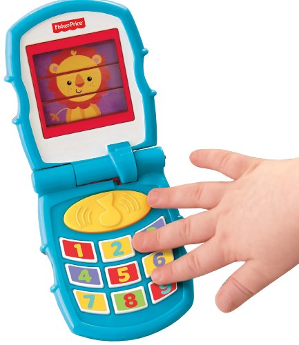 Fisher-Price Peek-a-Boo Friends Friendly Flip Phone