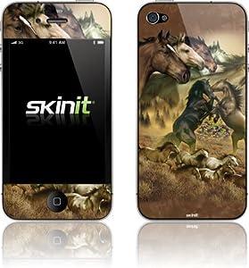 Buy Liquid Blue - Wild Mustangs - iPhone 4 & 4s - Skinit Skin by Skinit