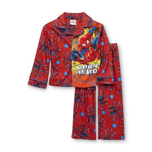 Spiderman Baby-Boys Infant Coat Pajamas Set