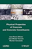 img - for Physical Properties of Concrete and Concrete Constituents (Iste) book / textbook / text book