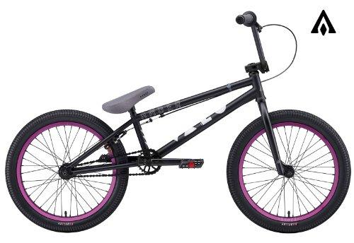 Amber Vaco Matte Black BMX Bike