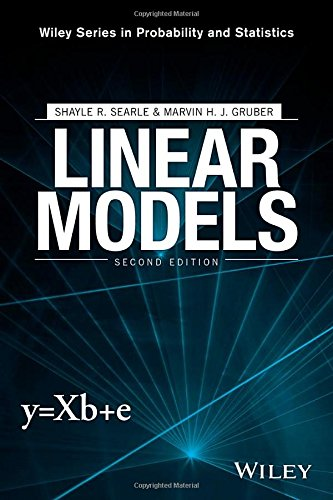 Linear Models (Wiley Series in Probability and Statistics) (General Linear Model compare prices)