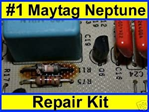 MAYTAG NEPTUNE WASHER R11 Q6 REPAIR KIT with WAX MOTOR