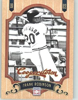 2012 Panini Cooperstown Baseball Card #111 Frank Robinson - Baltimore Orioles (Legend / Hall of Fame / HOF) MLB Trading Cards