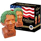 Chia Obama Handmade Decorative Planter, Happy Pose
