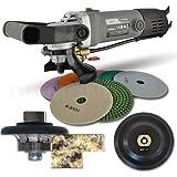 Hardin 38WVPOLSET 3/8-Inch Radius Stone and Concrete 1/4 Round Bullnose Shaping and Wet Polishing Kit