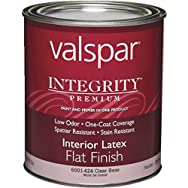 Integrity Latex Flat Interior Wall Paint And Primer in One Paint-INT FLAT CLEAR