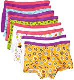Fruit of the Loom Girls Boyshort, 8 pk-Multicolor