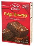 Betty Crocker Fudge Brownie Mix 519g American Version