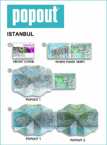 Istanbul Popout Map (Popout Maps)