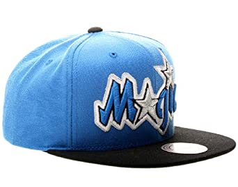 Mitchell & Ness Orlando Magic XL Logo 2T Mens Snapback Hat by Mitchell & Ness