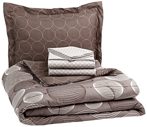 Great Deal! Pinzon 5-Piece Bed In A Bag - Twin X-Large,  Industrial Vintage Grey