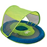 Swimways Baby Spring Float with Canopy - Green Turtle