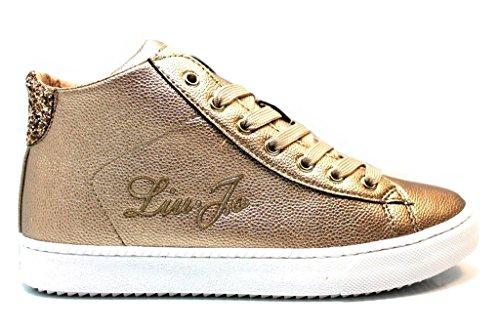 Liu Jo Polacchine Sneakers UM22530 Bronzo Scarpe Donna Calzature dal 35 al 40